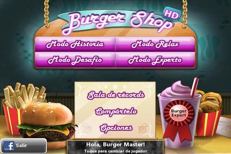 juego Burger Shop