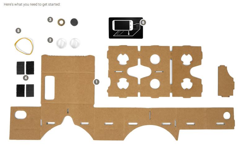 Como armar Google Cardboard